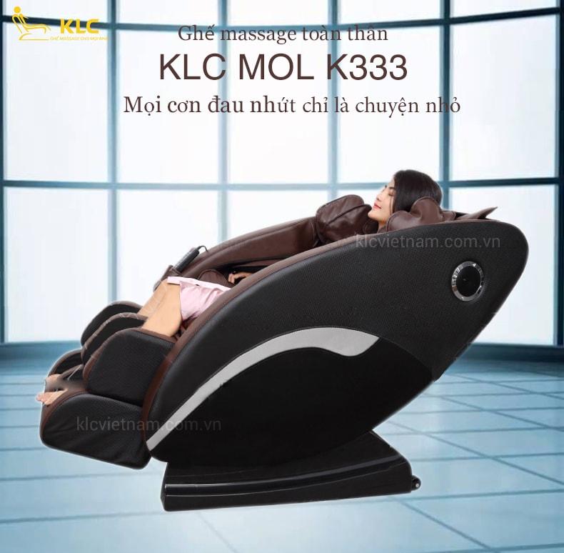 GHẾ MASSAGE KLC MOL K333