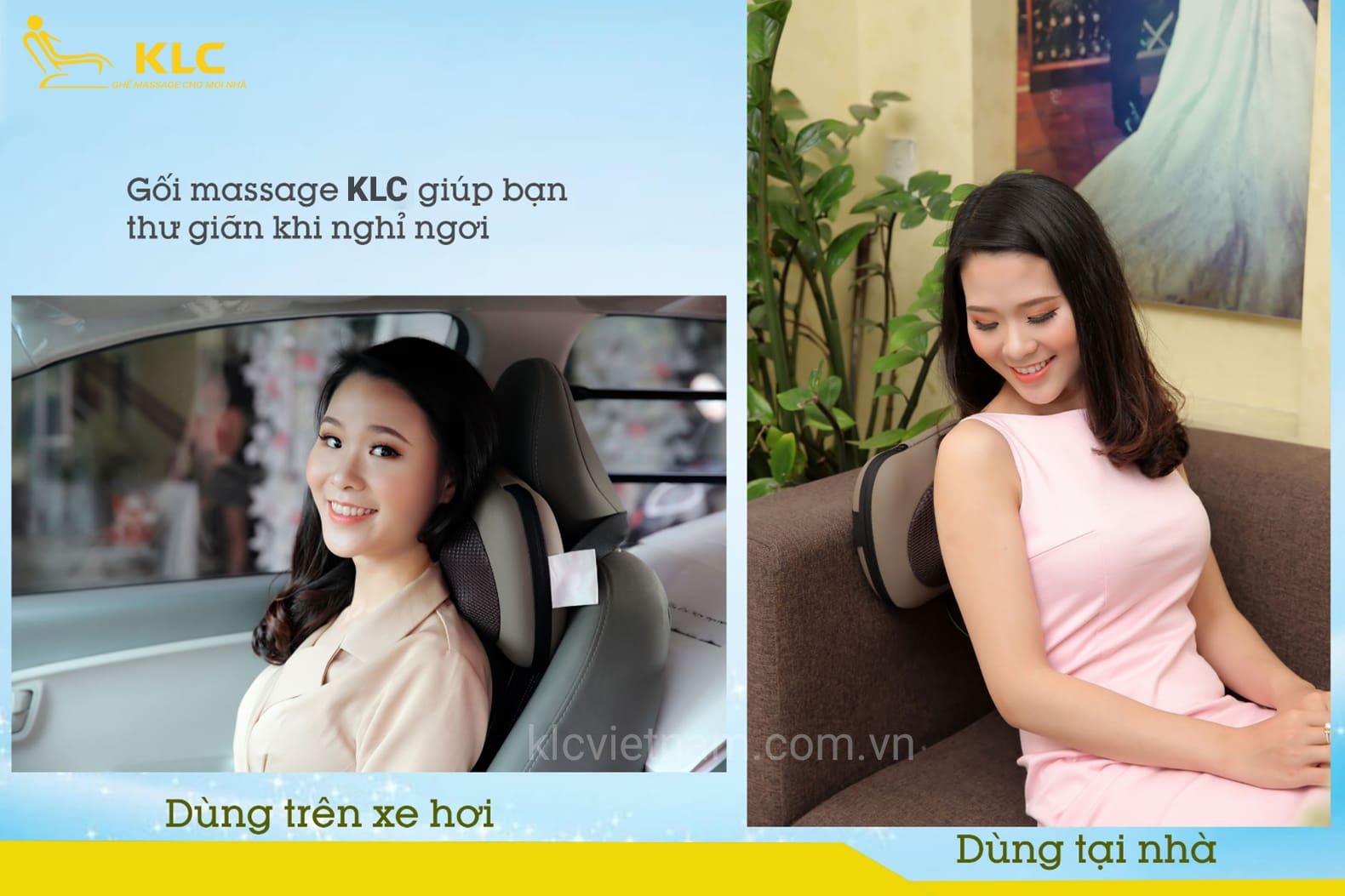 Gối Massage KLC-001
