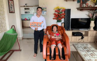 Cô Nguyễn Thị Phụng (65 tuổi) ở TP.HCM