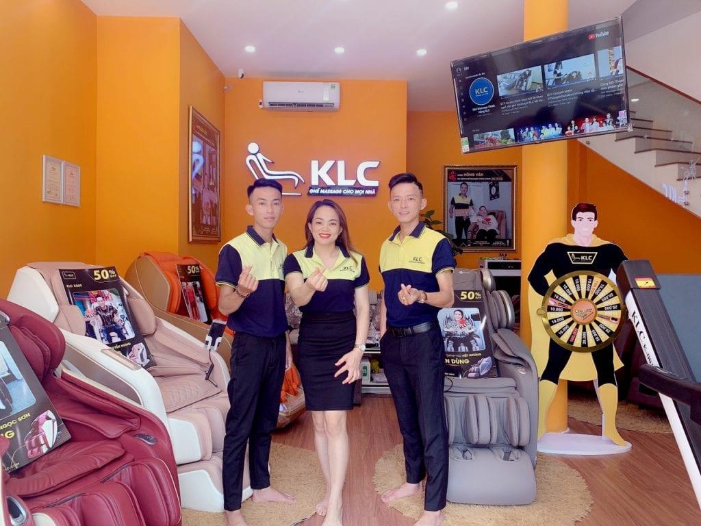 Showroom ghế massage KLC Đà Nẵng