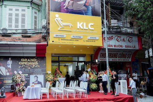 Ghế massage Thanh Hóa KLC