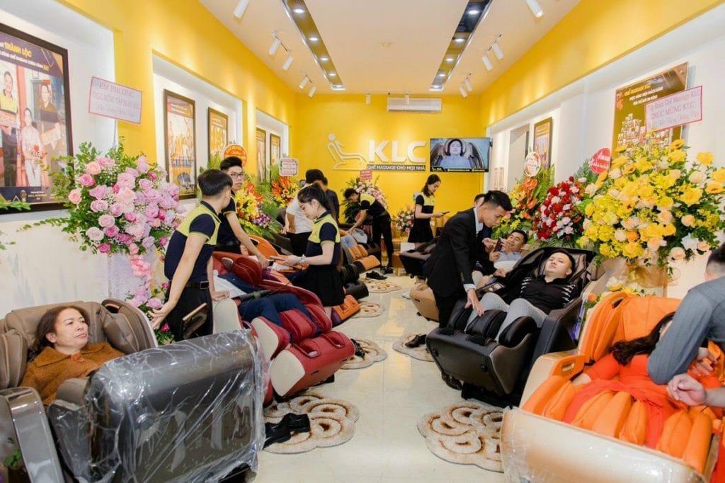 Showroom ghế massage KLC Hải Phòng