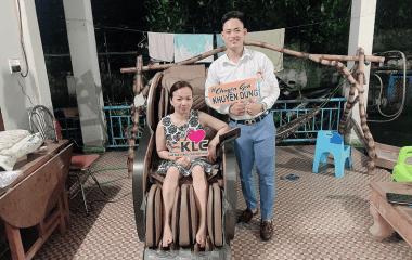 Cô Nguyễn Lan Anh (48 tuổi) ở TP.HCM
