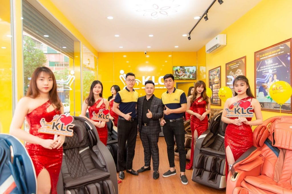 Showroom ghế massage KLC Thanh Hoá