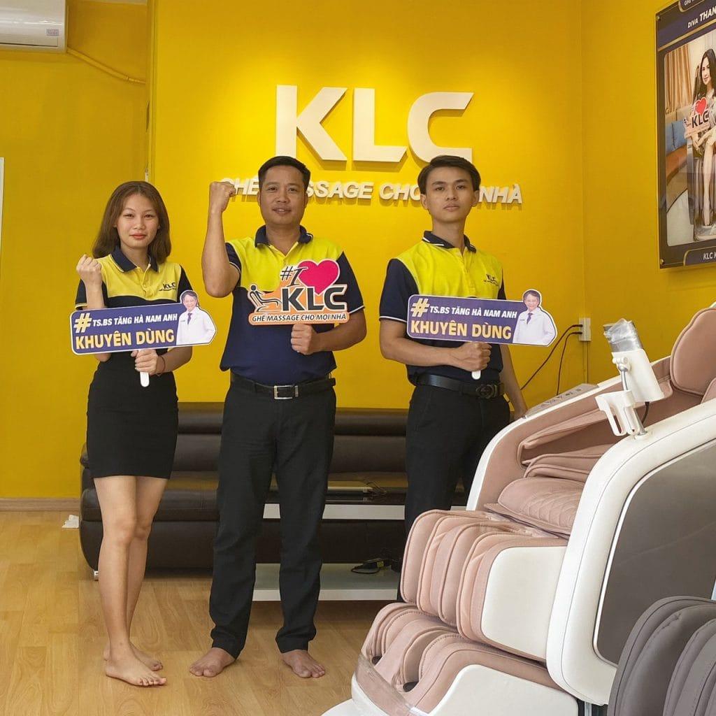 Showroom ghế massage KLC Vũng Tàu