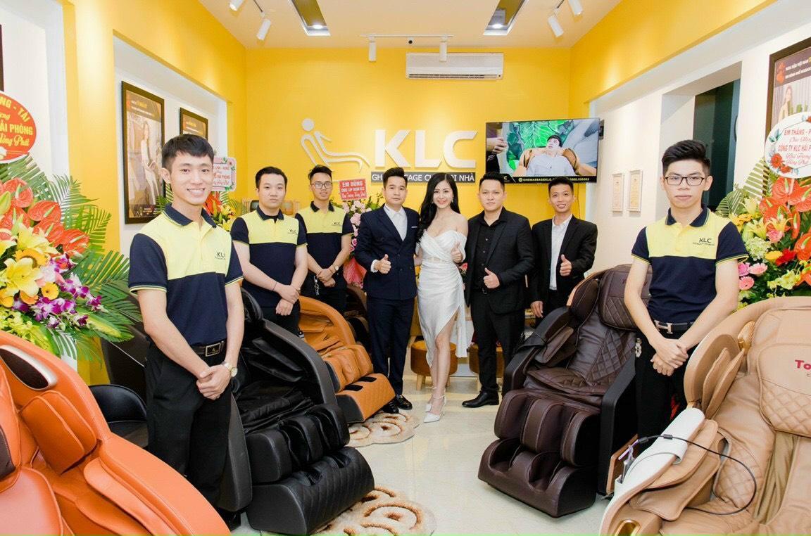 ghế massage chính hãng KLC Hải Phòng