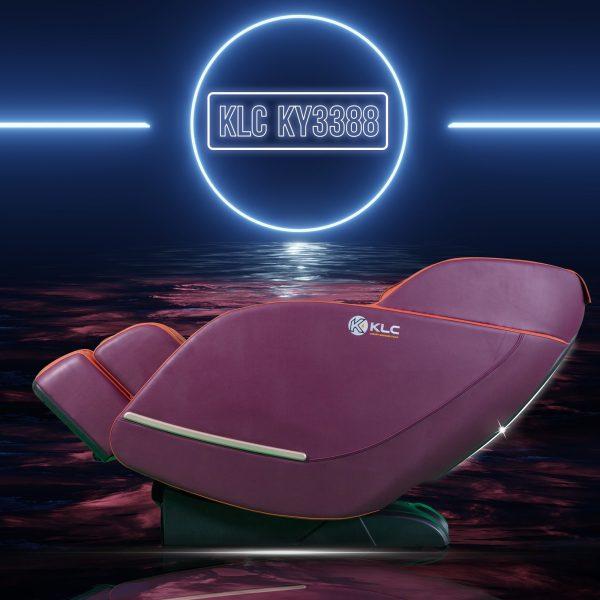 ghế massage KLC 3388 màu đỏ