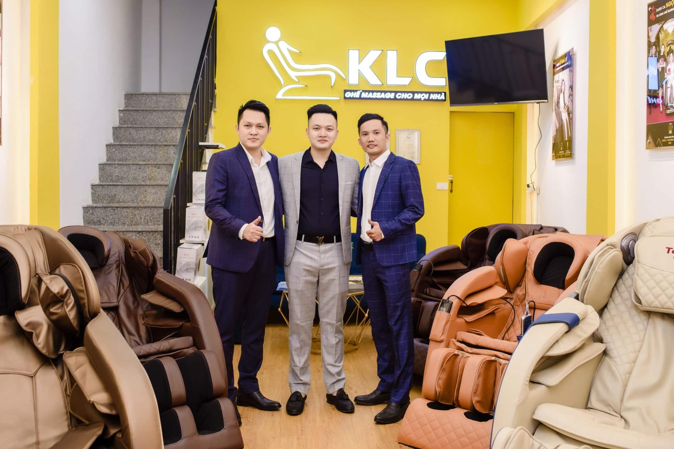 showroom ghế massage chính hãng KLC TP Vinh - Nghệ An