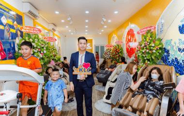 showroom ghe massage klc 995 Ghế massage KLC