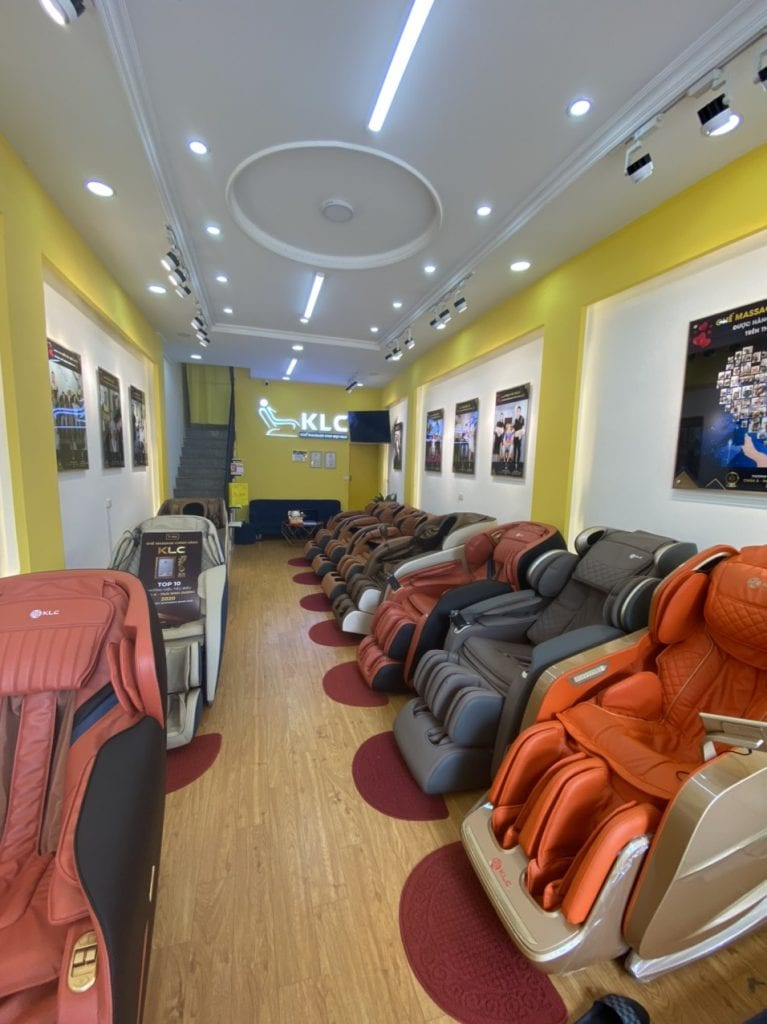 Showroom ghế massage KLC Vinh