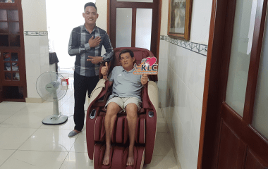 Chú Lê Công Mạnh (65 tuổi) ở TP.HCM