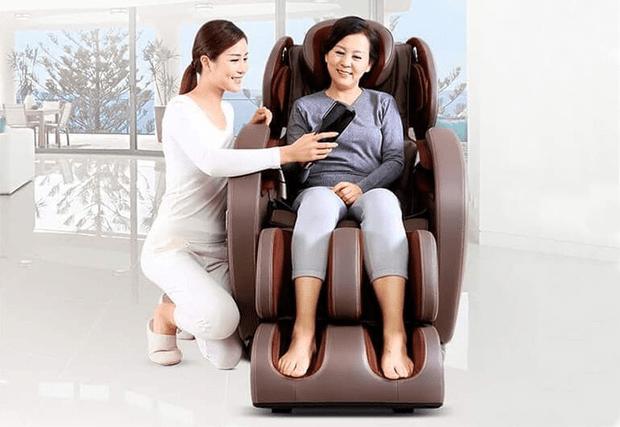 Bạn đã biết những công dụng tuyệt vời của ghế massage