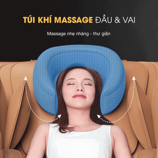Bí quyết massage giảm đau đầu tại nhà