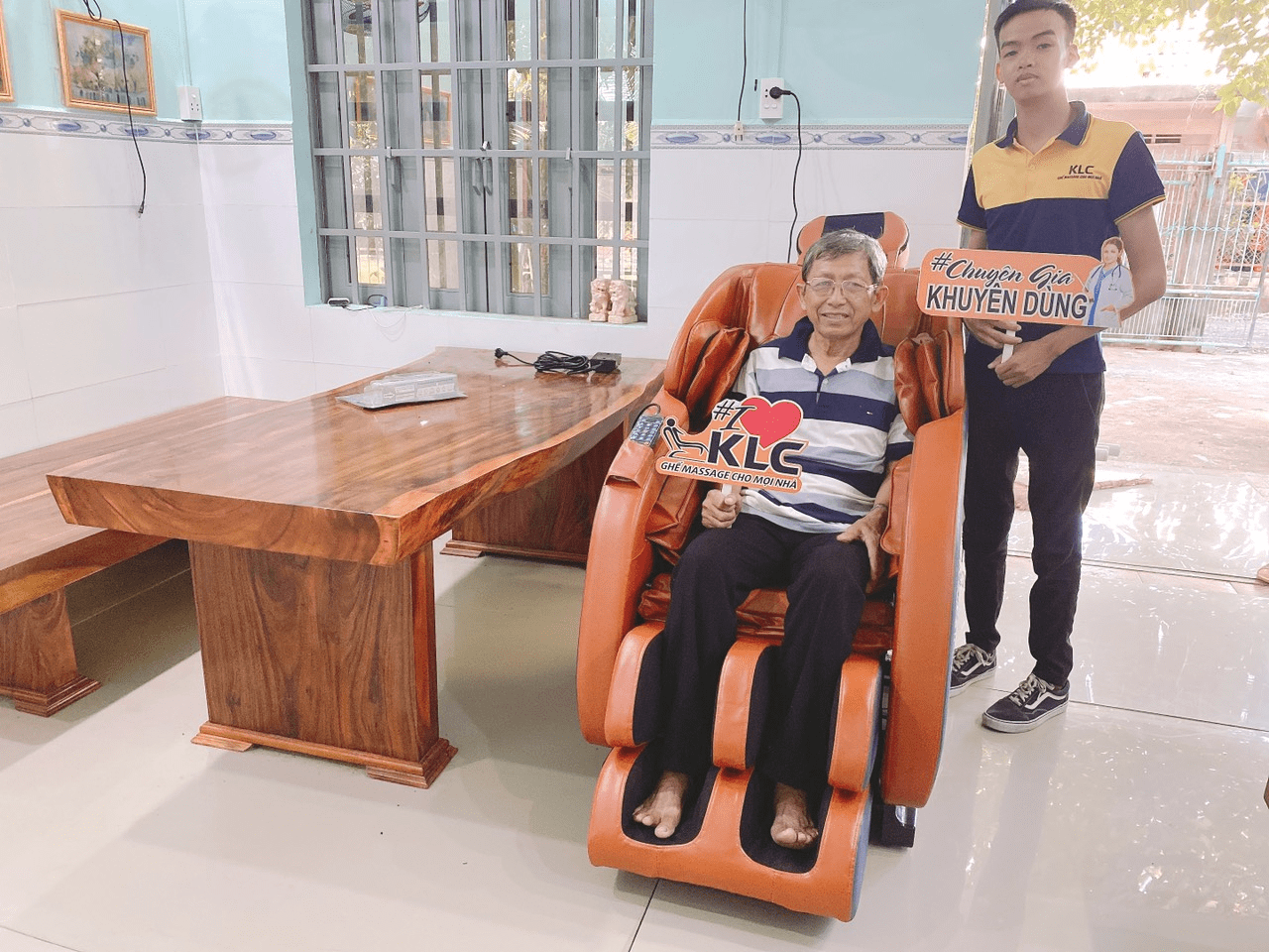 Chú Nguyễn Văn Ba (64 tuổi)