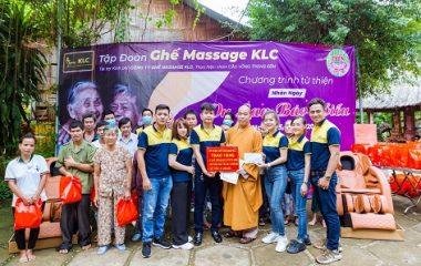 """KLC với hoạt động thiện nguyện nhân ngày """"Vu Lan Báo Biếu"""" tại Trung tâm nhân đạo Làng Tre"""