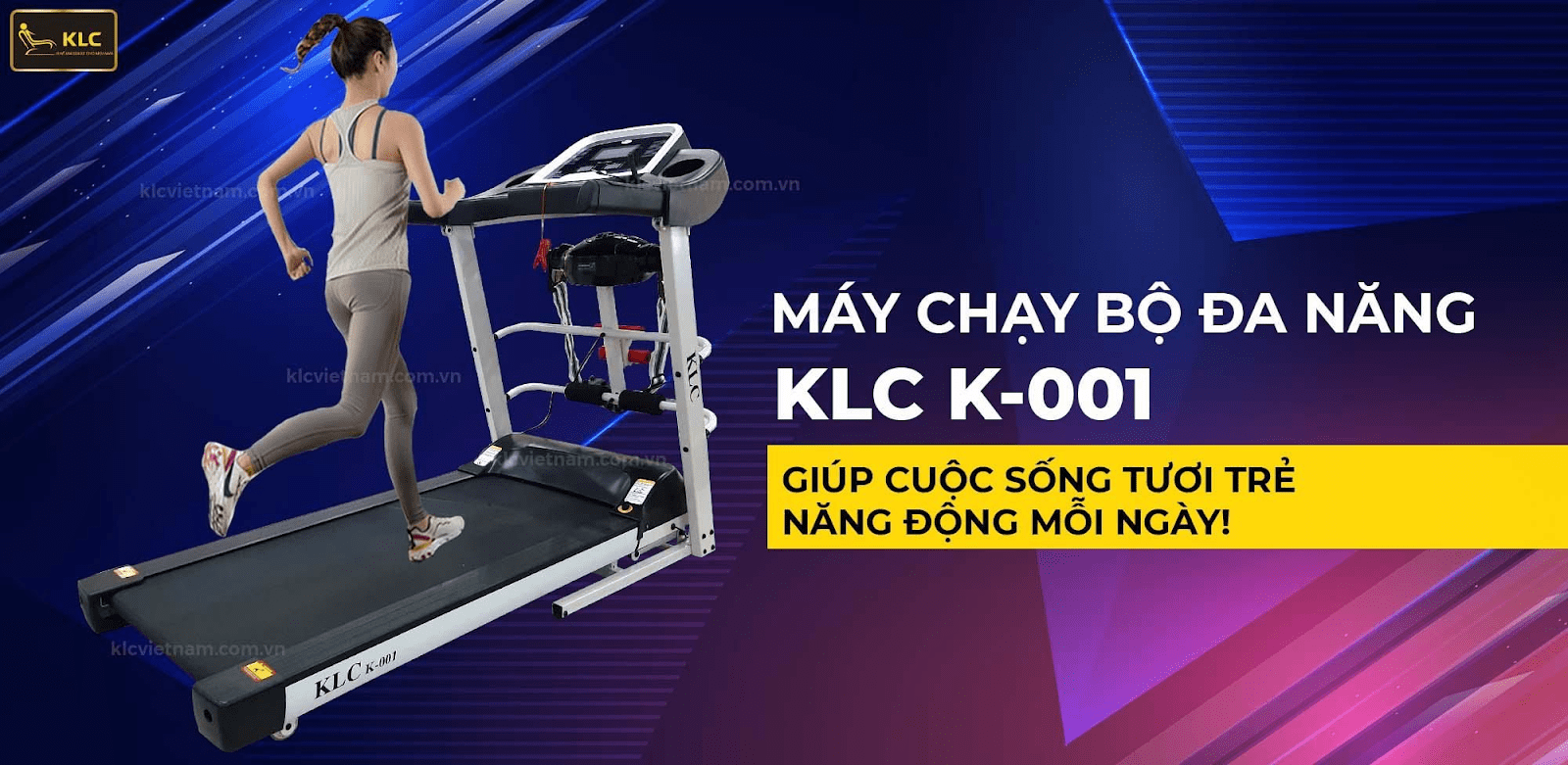 Máy chạy bộ đa năng KLC K-001
