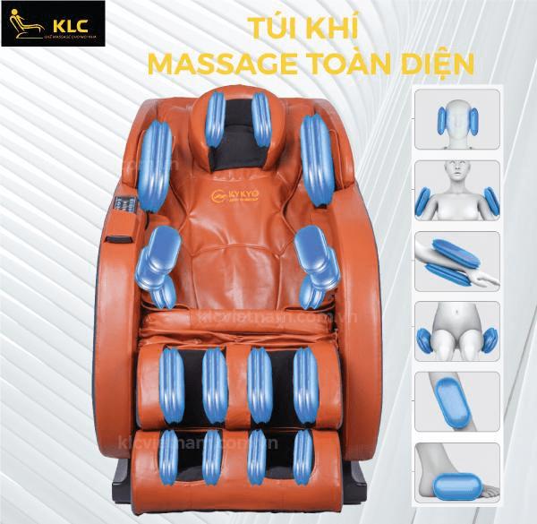 Top 3 ghế massage bán chạy nhất tháng 7 tại KLC