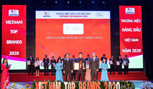 KLC được vinh danh Thương hiệu hàng đầu Việt Nam - VietNam Top Brand 2020