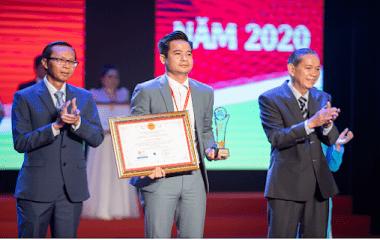 Ông Nguyễn Công Tùng - Tổng giám đốc KLC được vinh danh Doanh nhân Việt Nam tiêu biểu 2020