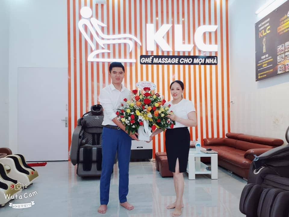 Showroom ghế massage KLC Quảng Ngãi