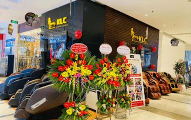 showroom ghế massage KLC Tây Hồ Hà Nội