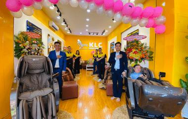 showroom ghế massage KLC Thủ Dầu 1 BÌnh Dương