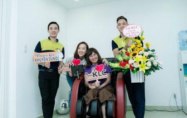 Món quà dành tặng mẹ của diễn viên – ca sĩ Băng Di từ Ghế Massage Chính Hãng KLC