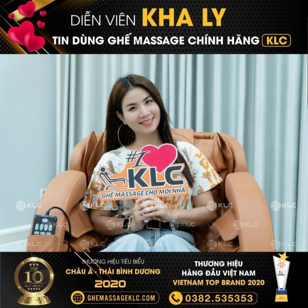 ghe massage klc ky 6868 ca si kha ly Ghế massage KLC