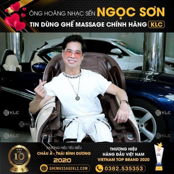 ghe massage klc kykyo 6688 danh ca ngoc son 1 Ghế massage KLC