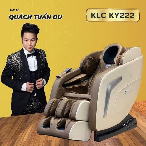 GHẾ MASSAGE KLC KY222