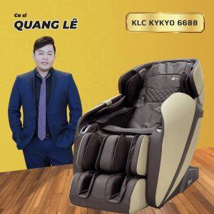 Ghế massage KLC KYKYO6688 Quang Lê