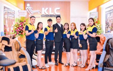 showroom ghế massage KLC Bà Rịa