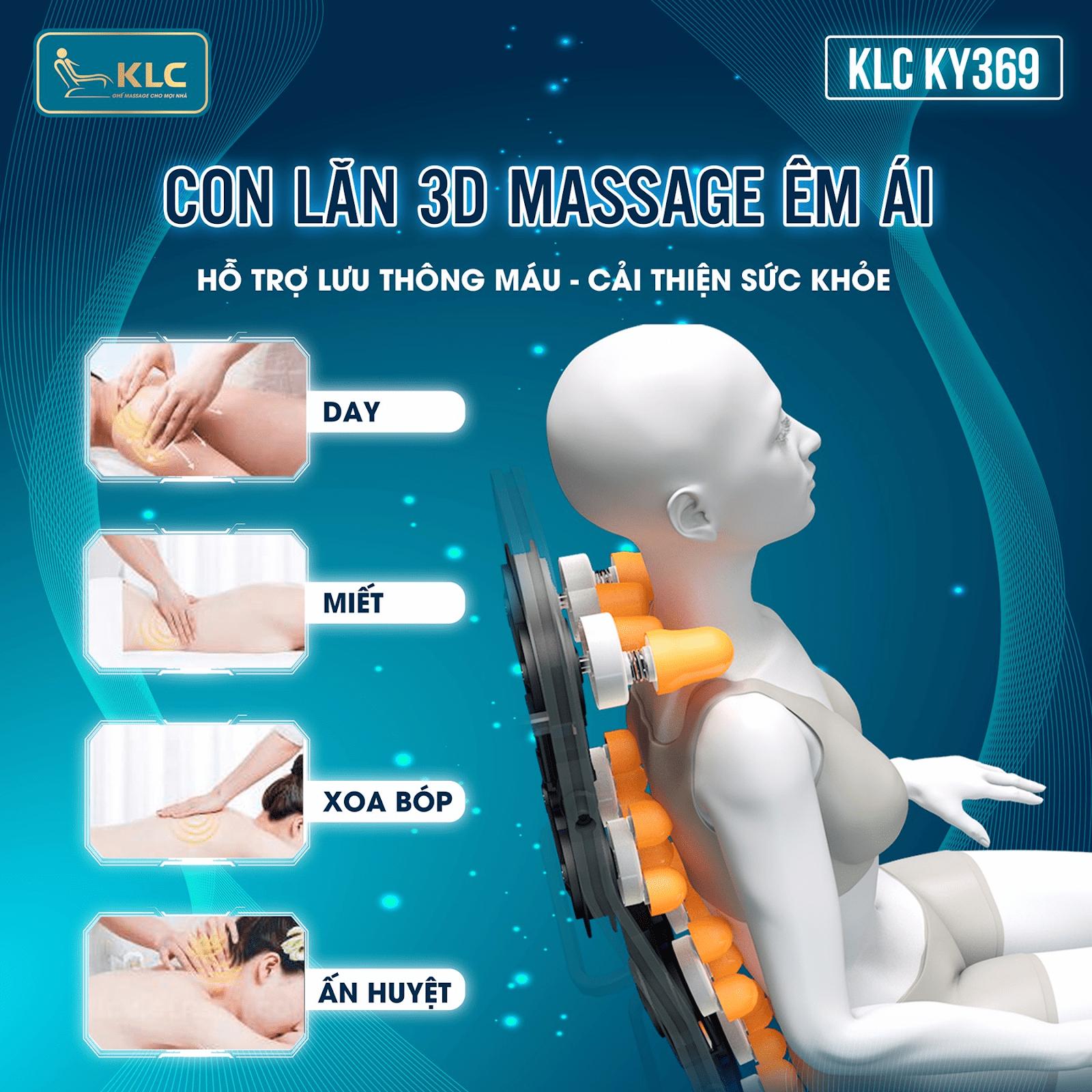 ghế massage KLC KY369