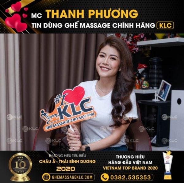 ghe massage klc ky369 mc thanh phuong Ghế massage KLC