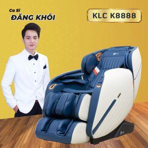 ghế massage KLC K8888 Ca sĩ đăng Khôi