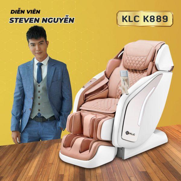 Ghế massage KLC K889 diễn viên Steven Nguyễn
