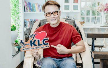 Ca sĩ Hoàng Bách tậu ngay siêu phẩm KLC KY707 cực hot để chăm sóc sức khỏe cả nhà