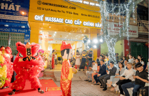 2su kien khai truong showroom ghe massage chinh hang klc bac giang Ghế massage KLC
