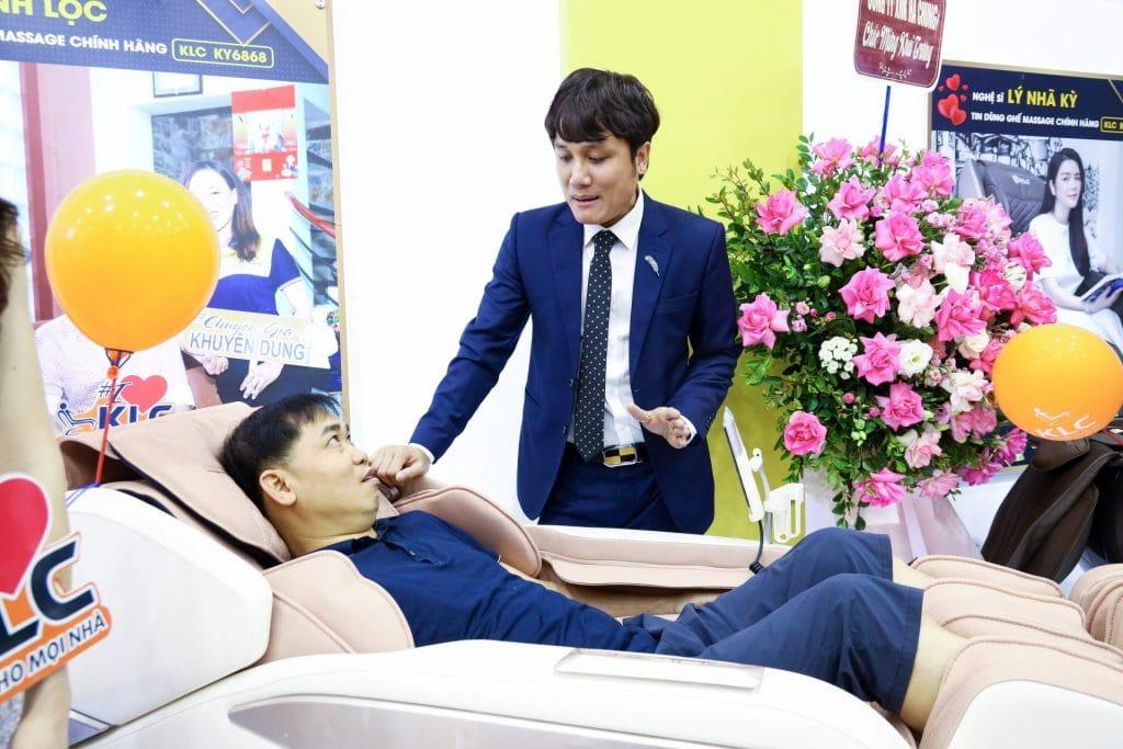 Showroom ghế massage KLC Thái Nguyên