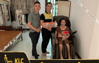 Cô Nguyễn Thanh Tâm (62 tuổi) ở TP.HCM
