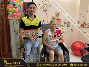 41 trieu khach hang tin dung Ghế massage KLC