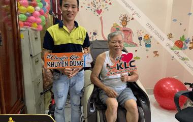 Chú Nguyễn Văn Tư (63 tuổi) ở TP.HCM