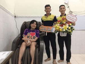 91 trieu khach hang tin dung Ghế massage KLC