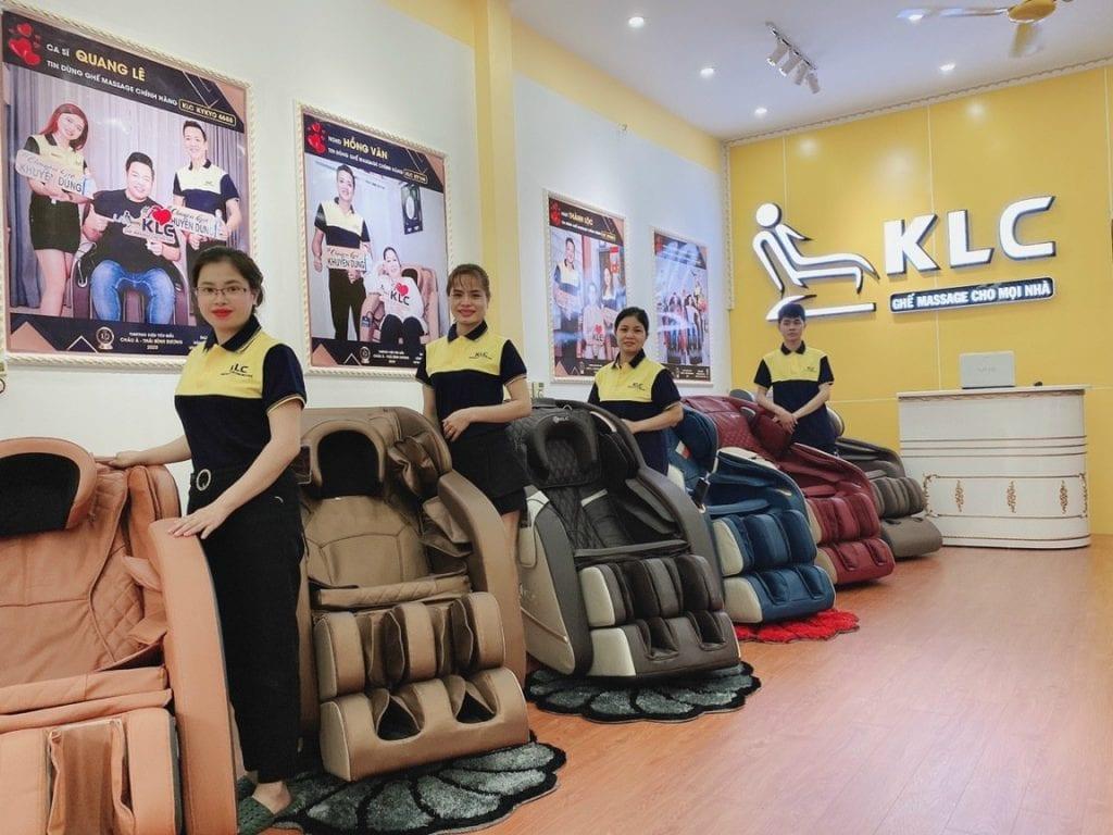 Showroom ghế massage KLC Bắc Giang