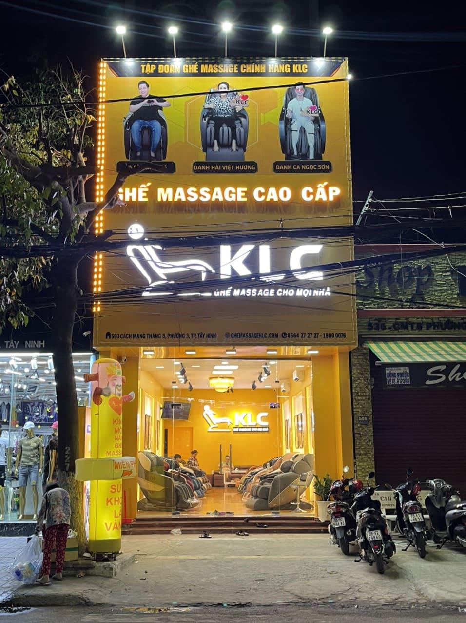 Ghế Massage Chính Hãng KLC - Tây Ninh