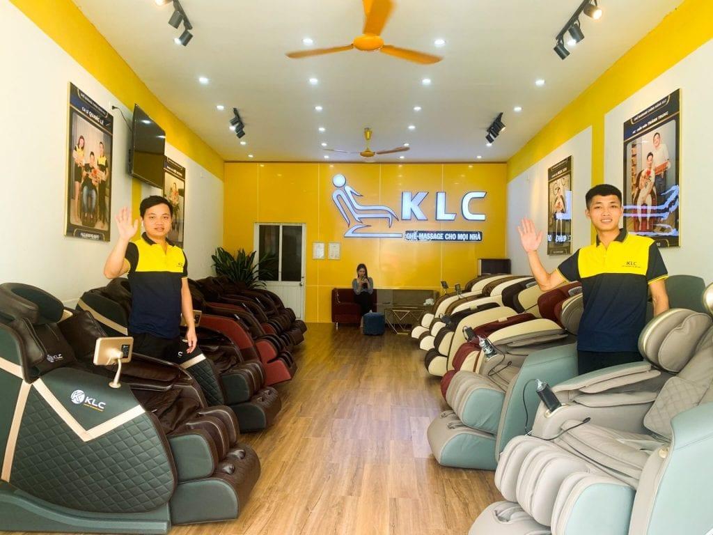 ghế massage chính hãng klc lạng sơn