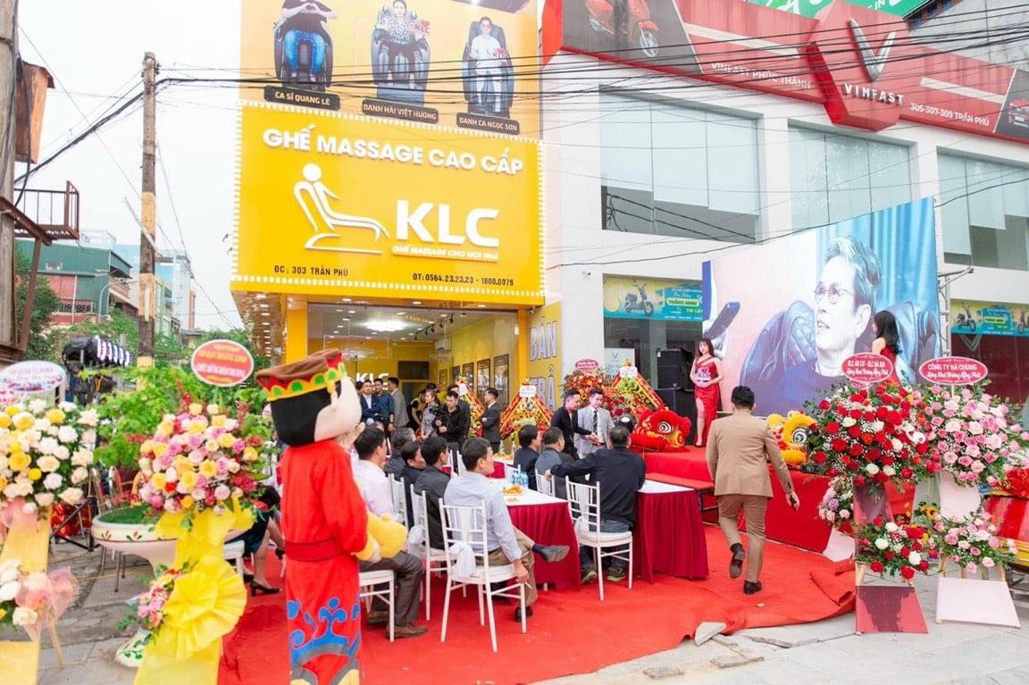 Ghế Massage Chính Hãng KLC - Thanh Hoá ( Cơ sở 2)