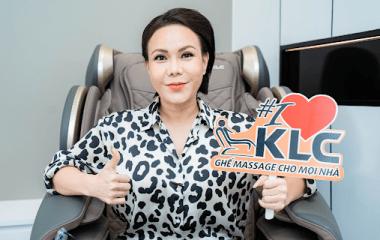 Đệ nhất danh hài nữ Việt Hương vô cùng hài lòng với những tính năng ưu việt của KLC K8899