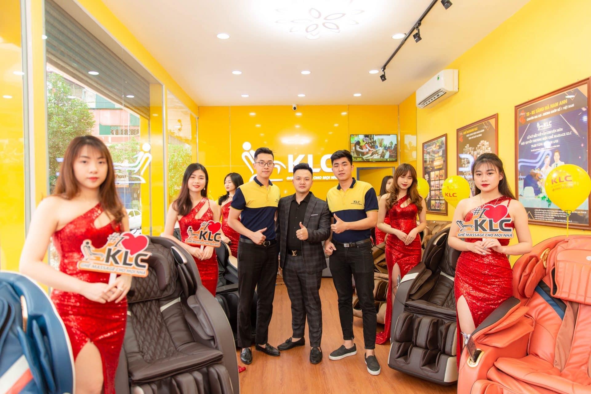 thanh hoa Ghế massage KLC