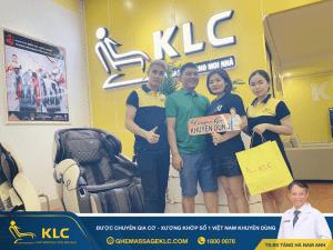 9 Ghế massage KLC